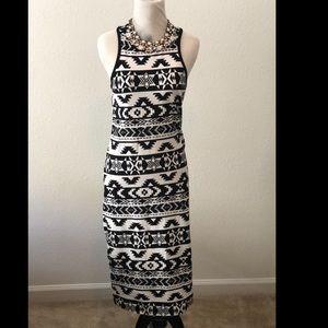 Tribal Midi dress